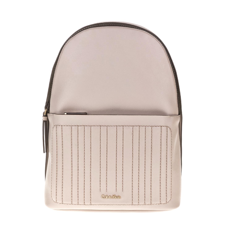 CALVIN KLEIN JEANS – Γυναικεία τσάντα πλάτης MICHELLE μπεζ 1564329.0-01M6