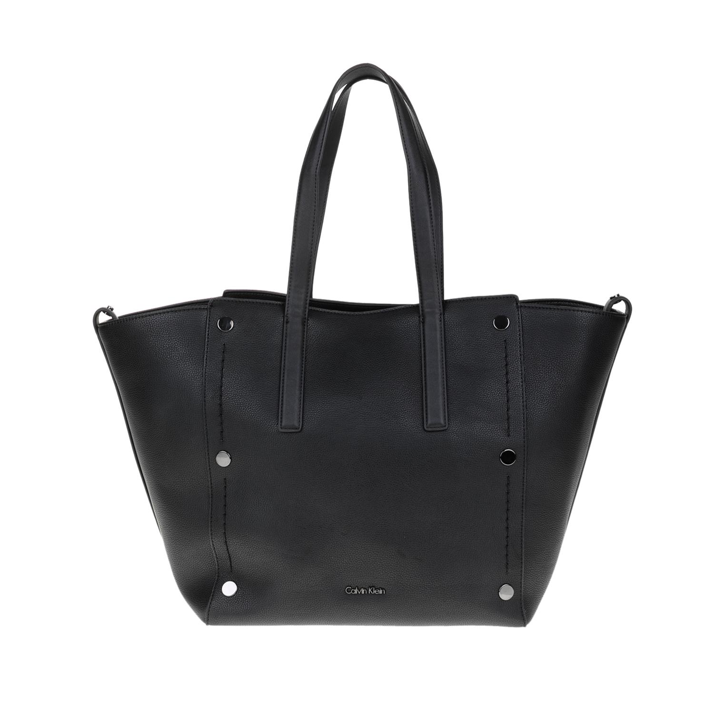 CALVIN KLEIN JEANS – Γυναικεία τσάντα YVON CALVIN KLEIN JEANS μαύρη 1564330.0-0073