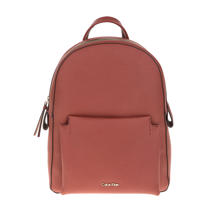 CALVIN KLEIN JEANS – Γυναικεία τσάντα πλάτης CARRIE CALVIN KLEIN JEANS κόκκινη 1564351.0-42P4