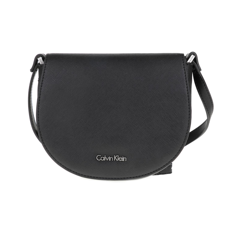 CALVIN KLEIN JEANS - Γυναικεία τσάντα ώμου MARISSA CALVIN KLEIN JEANS μαύρη a1f0ac31030