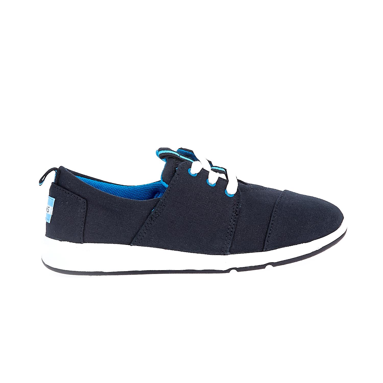 TOMS – Παιδικά sneakers TOMS μαύρα