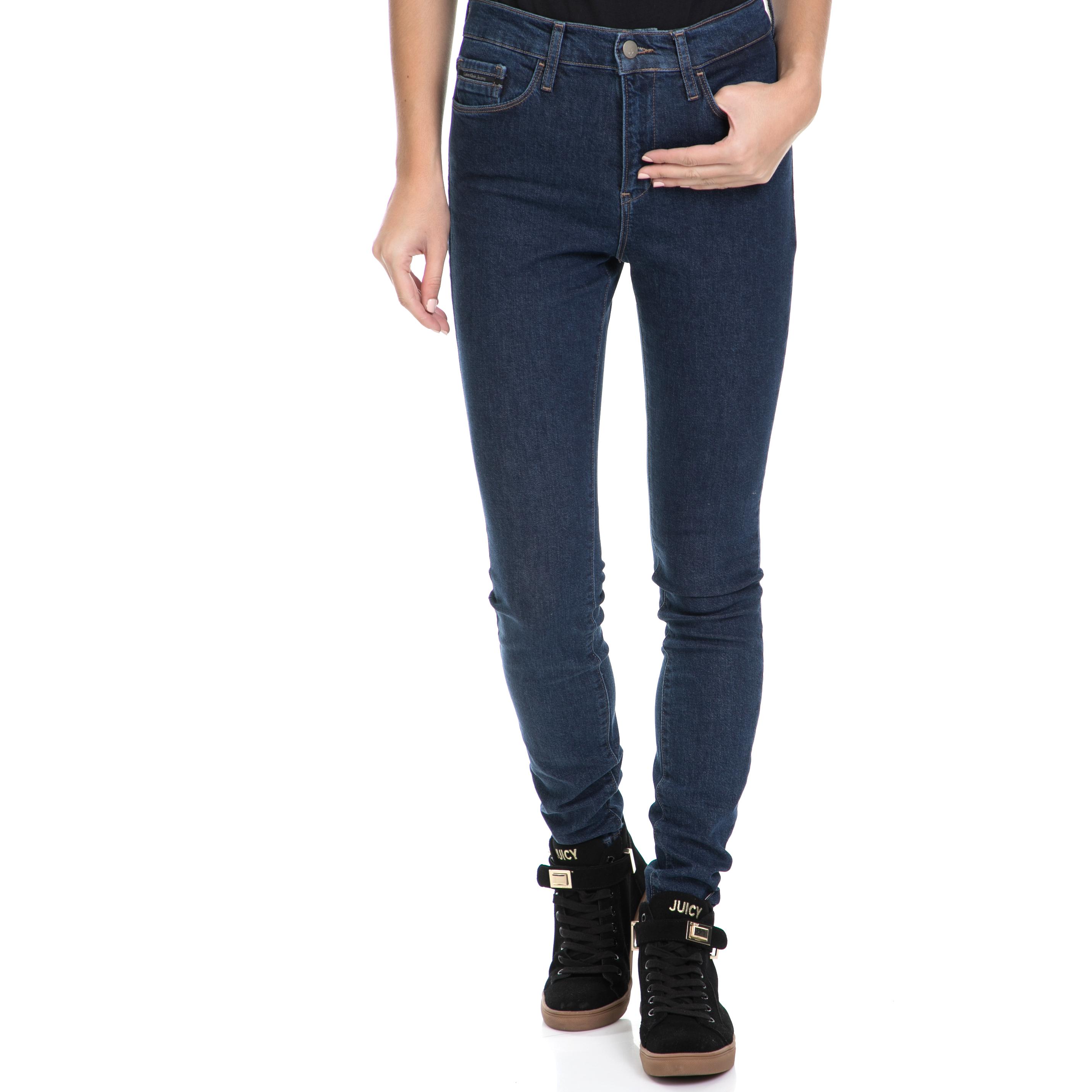 CALVIN KLEIN JEANS – Γυναικείο τζιν παντελόνι High Rise Skinny – Bice Dark μπλε