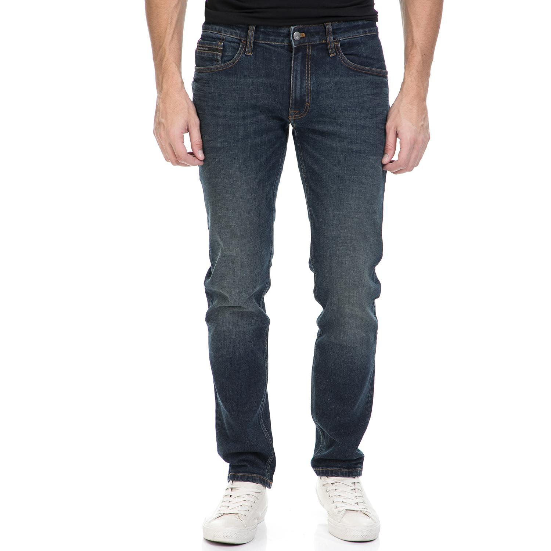 CALVIN KLEIN JEANS – Ανδρικό τζιν παντελόνι CALVIN KLEIN JEANS μπλε