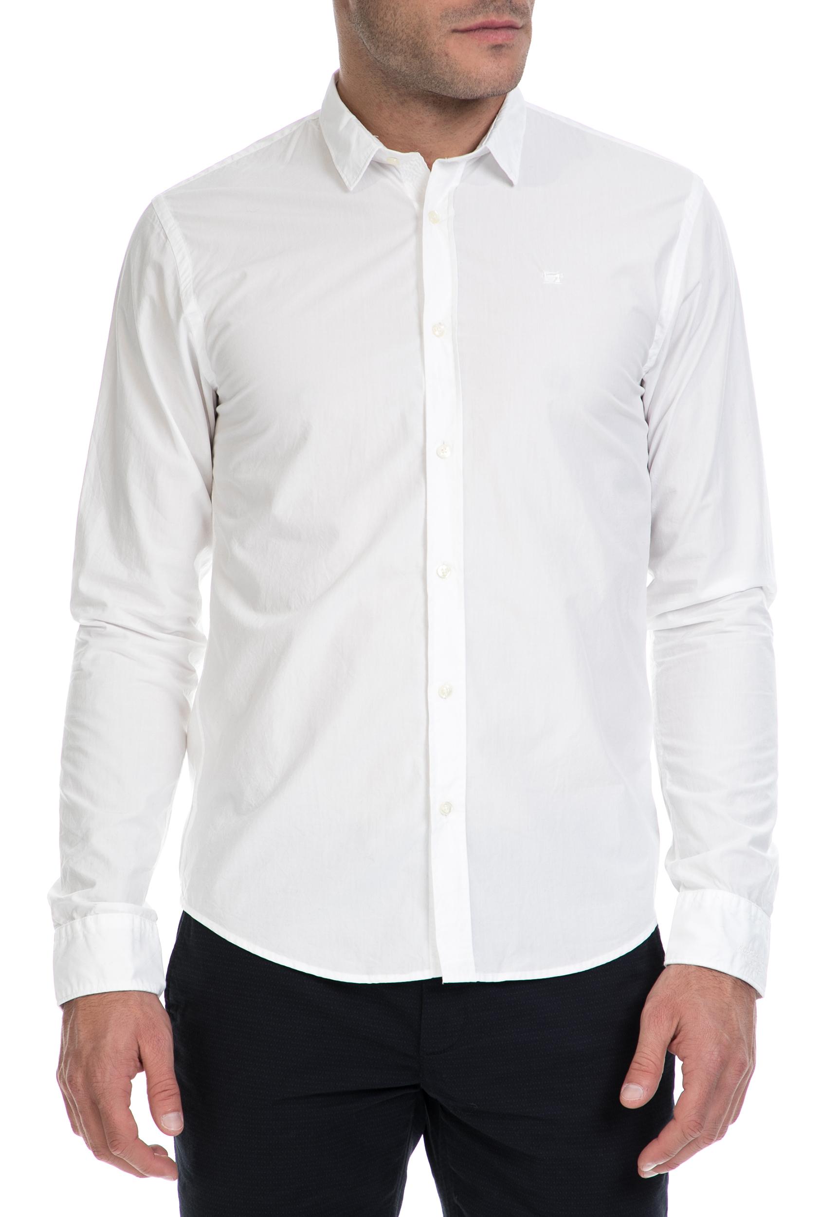 SCOTCH & SODA – Ανδρικό πουκάμισο SCOTCH & SODA λευκό