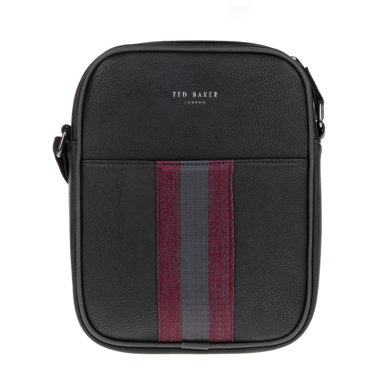TED BAKER – Ανδρική τσάντα ώμου KONDOOR WEBBING TED BAKER μαύρη