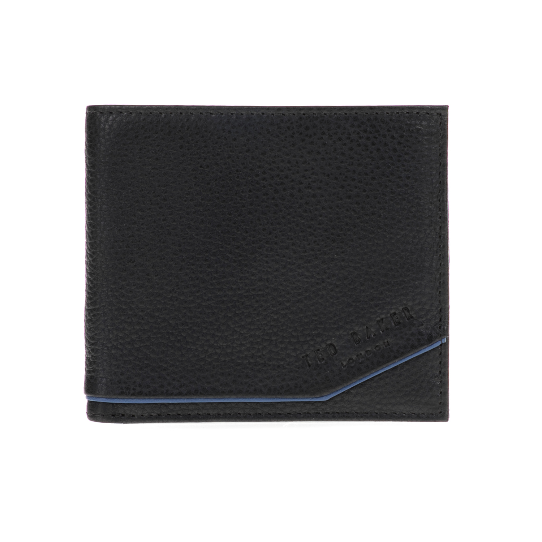 TED BAKER - Ανδρικό πορτοφόλι PERSIA TED BAKER μαύρο ανδρικά αξεσουάρ πορτοφόλια μπρελόκ