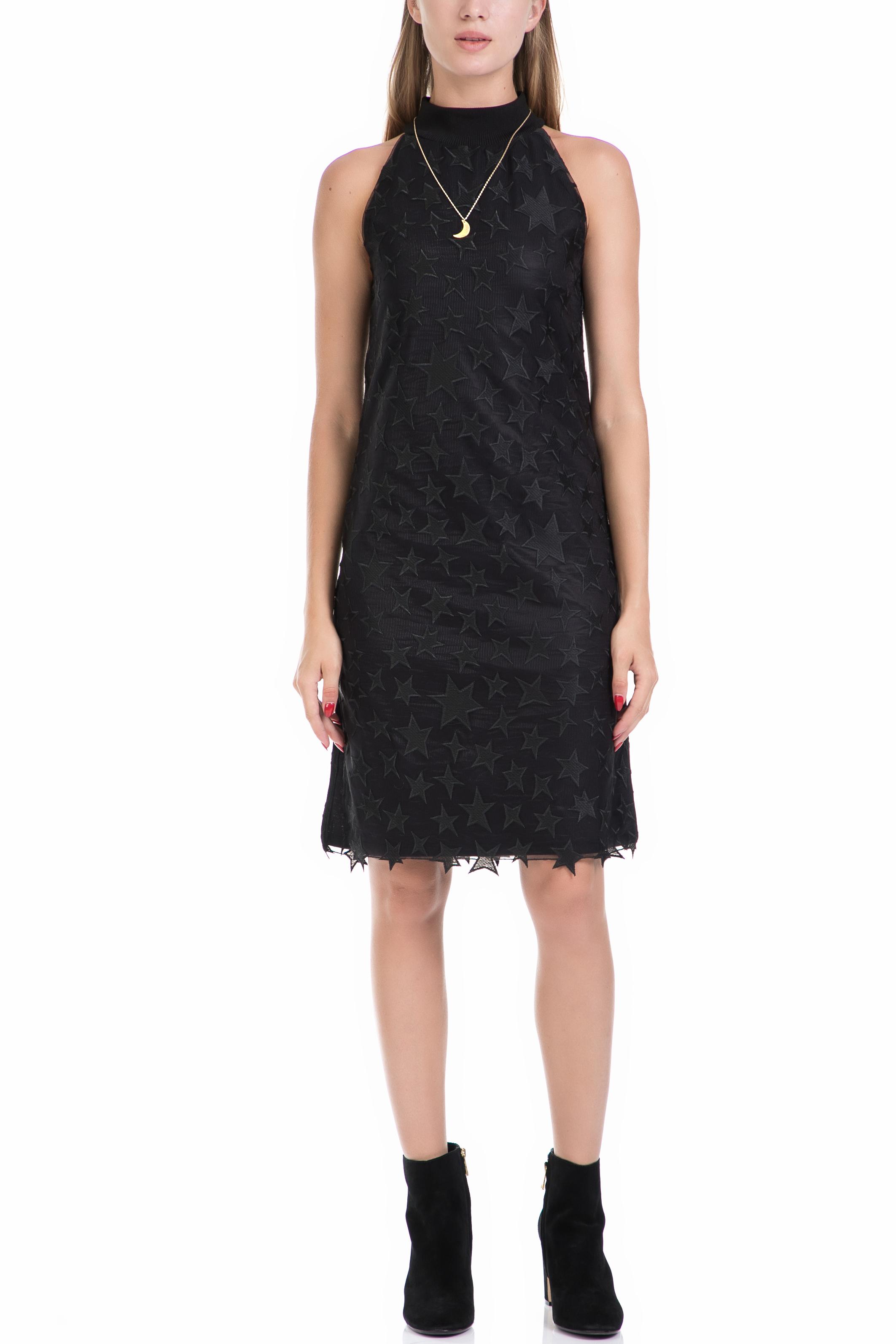 f7f0fb559639 SCOTCH   SODA - Γυναικείο φόρεμα MAISON SCOTCH μαύρο ⋆ egynaika.gr