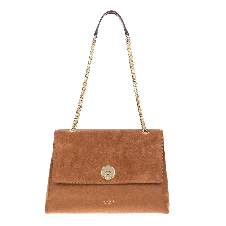 TED BAKER – Γυναικεία τσάντα ώμου SOPHINA BAKER καφέ 1567901.0-00K6