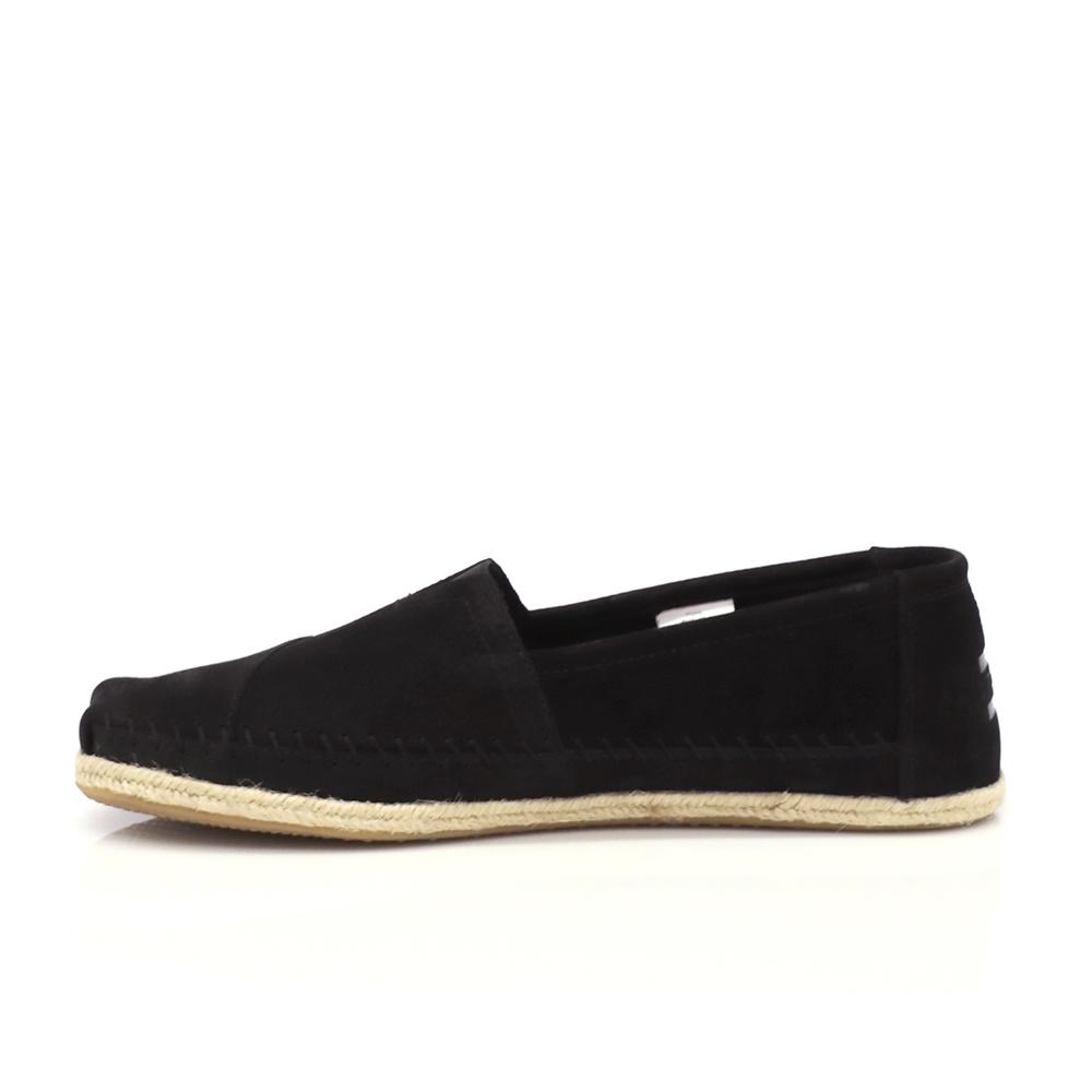 TOMS - Ανδρικές εσπαντρίγιες TOMS μαύρες ανδρικά παπούτσια εσπαντρίγιες
