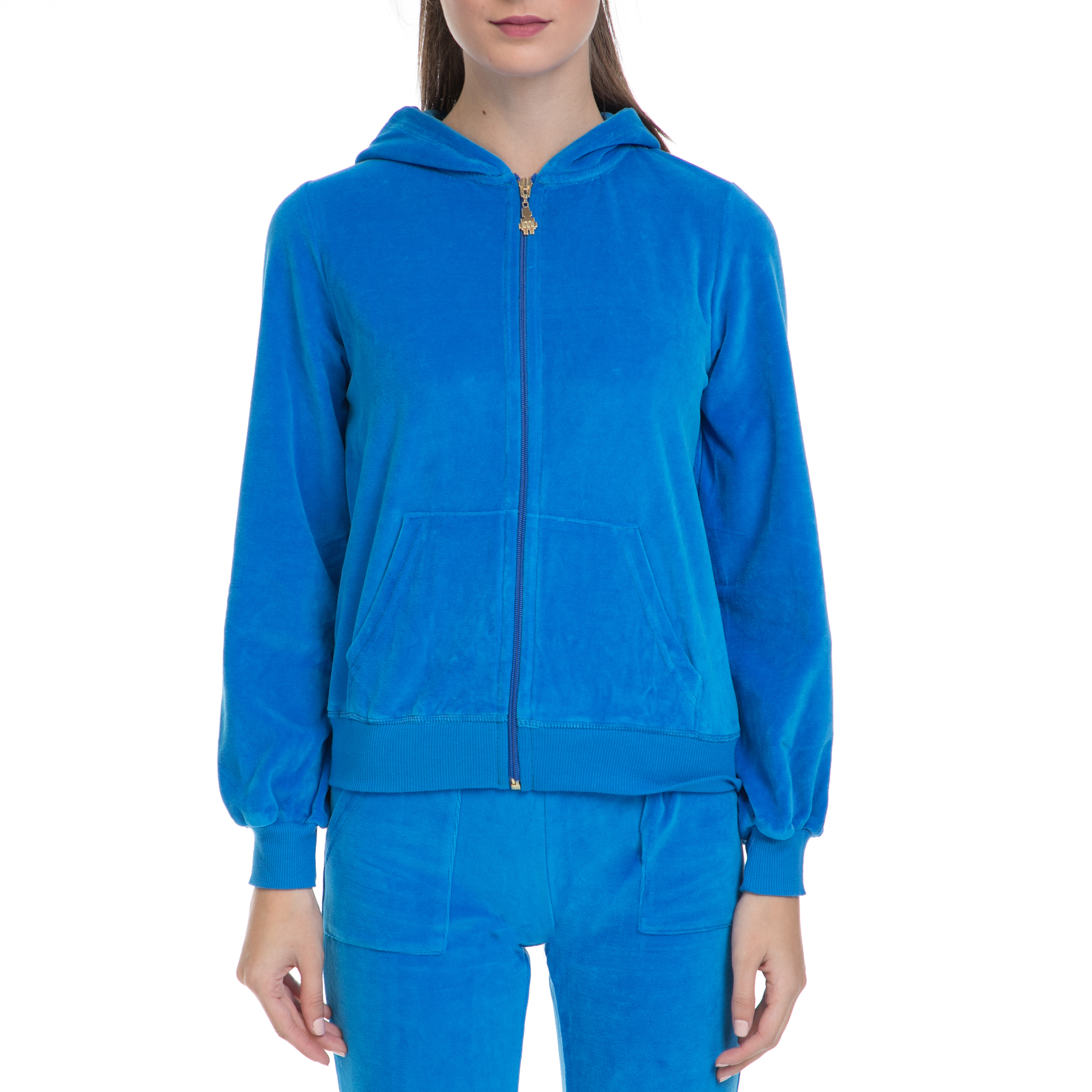 MYMOO - Γυναικεία ζακέτα MYMOO μπλε γυναικεία ρούχα φούτερ ζακέτες