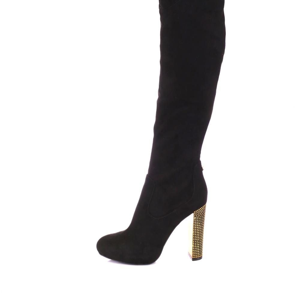GUESS – Γυναικείες μπότες DOE BOOT μαύρες