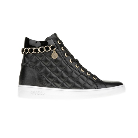 GUESS-Γυναικεία sneakers GUESS GERTA μαύρα