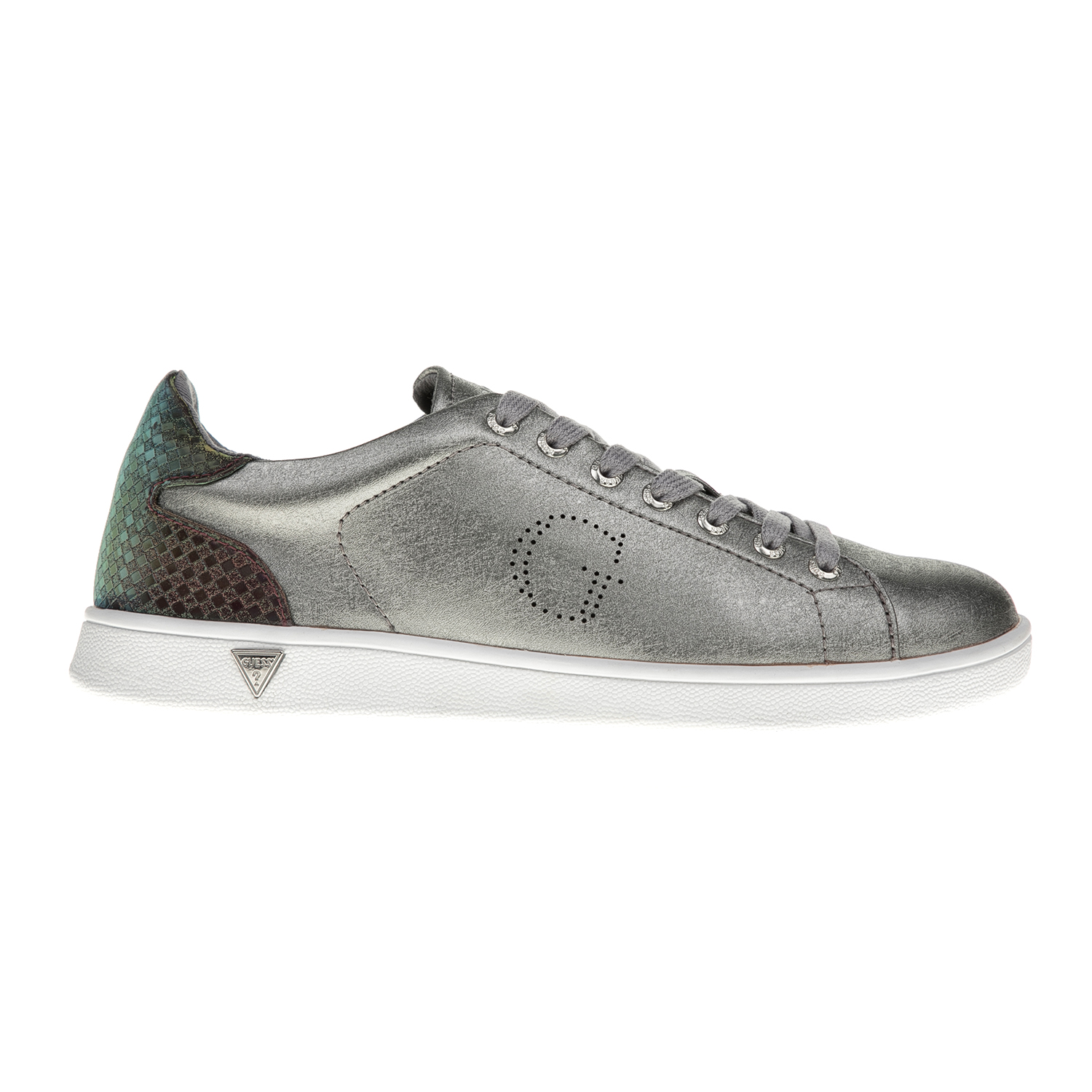 GUESS – Γυναικεία sneakers GUESS SUPER ασημί