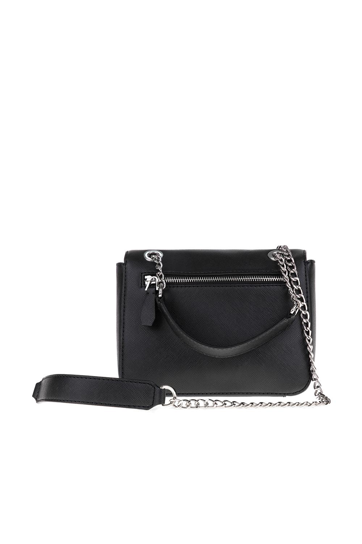GUESS – Γυναικεία τσάντα CYBER ROCK FLAP GUESS μαύρο