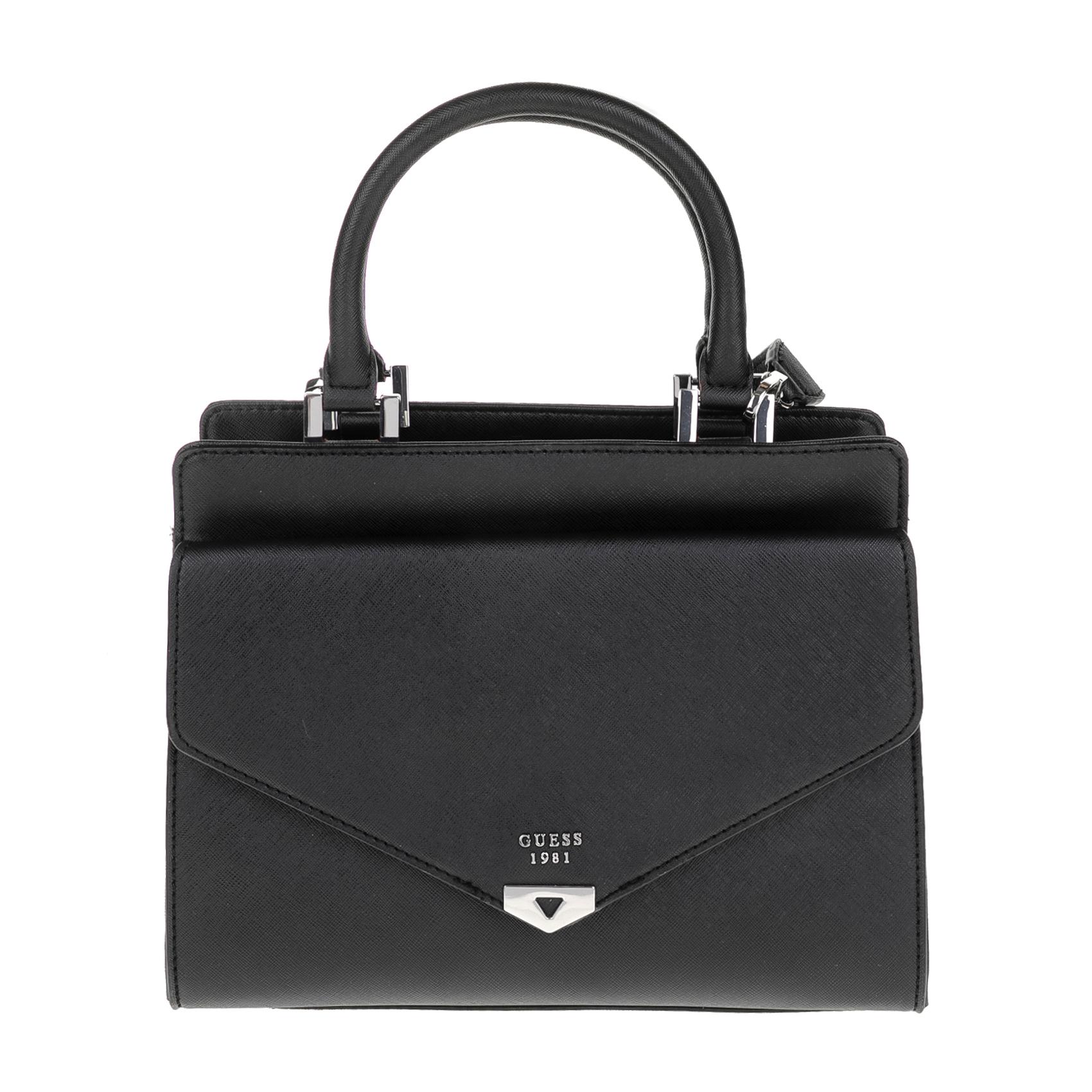 GUESS – Γυναικεία τσάντα GUESS LOTTIE μαύρη 1571194.0-0071