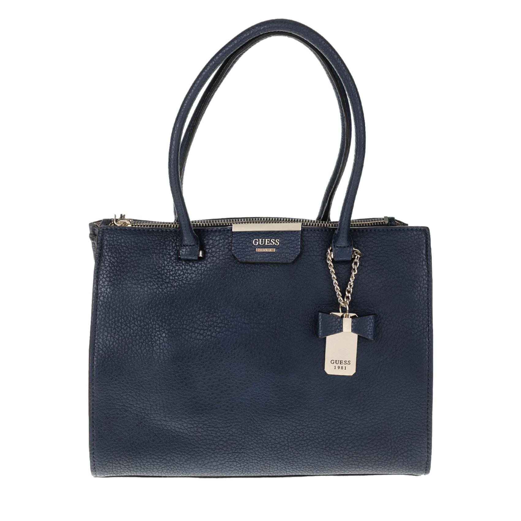 GUESS – Γυναικεία τσάντα GUESS RYANN μπλε