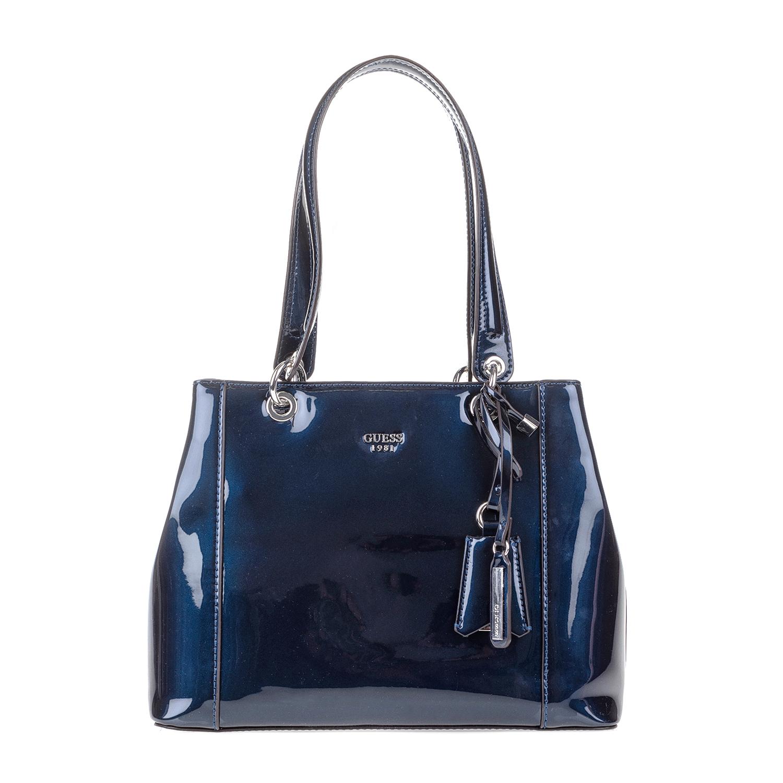 GUESS – Γυναικεία τσάντα χειρός KAMRYN GUESS μπλε 1571357.0-0016