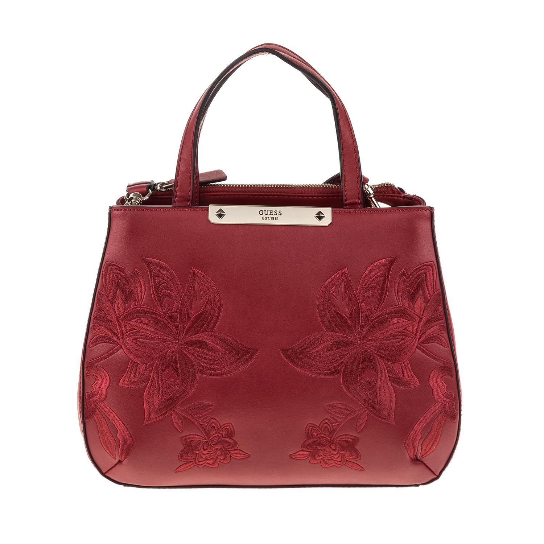 GUESS – Γυναικεία τσάντα GUESS BRITTA κόκκινη 1571416.0-00F1