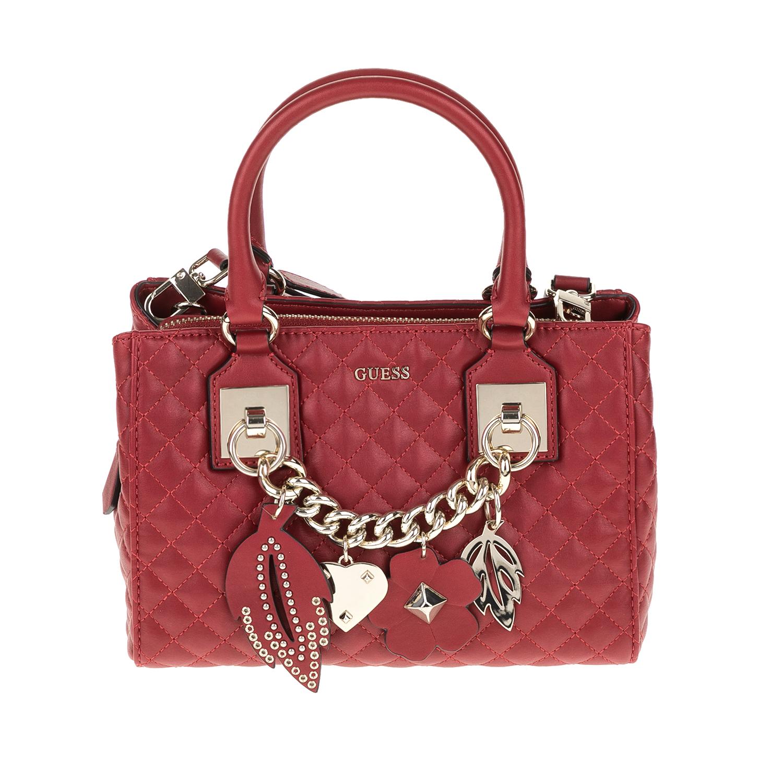 GUESS – Γυναικεία τσάντα STASSIE GUESS κόκκινη 1571424.0-00F1