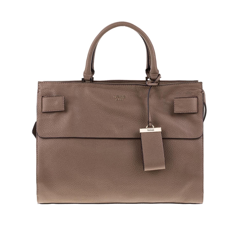 GUESS – Γυναικεία τσάντα SHAILENE GUESS μπεζ 1571428.0-00M7