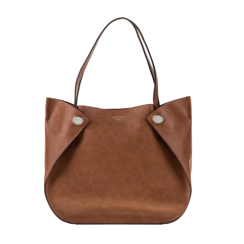 GUESS – Γυναικεία τσάντα SHANE GUESS καφέ 1571431.0-00K7