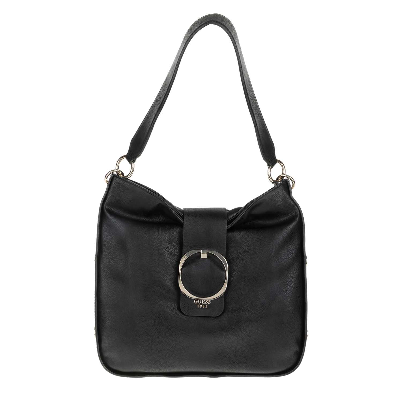 739cf575c1 GUESS - Γυναικεία τσάντα GUESS MOONEY HOBO μαύρη