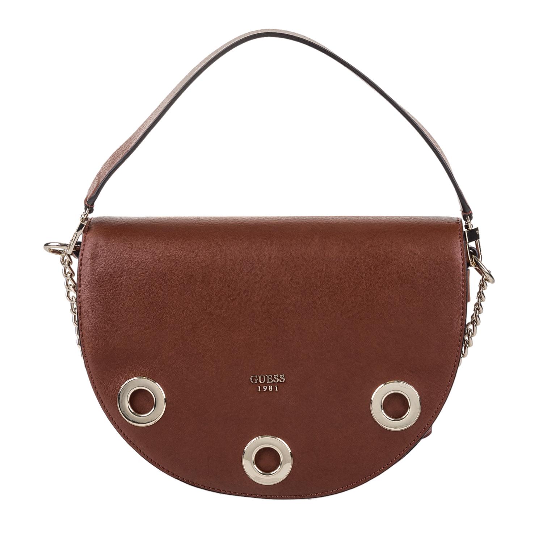 GUESS – Γυναικεία τσάντα DINAH GUESS καφέ 1571447.0-01K7