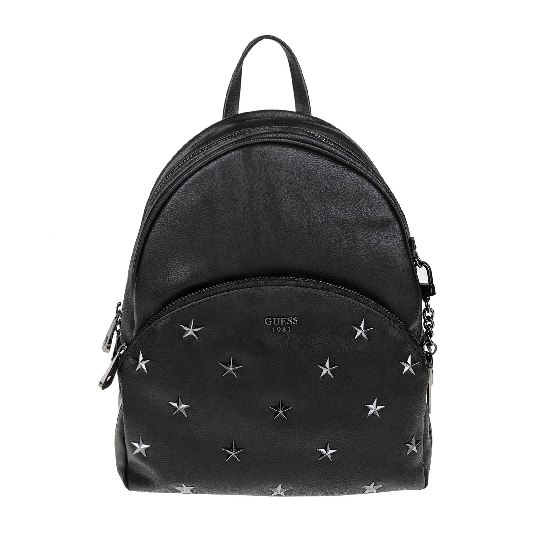GUESS – Γυναικεία τσάντα πλάτης GUESS BRADYN μαύρη