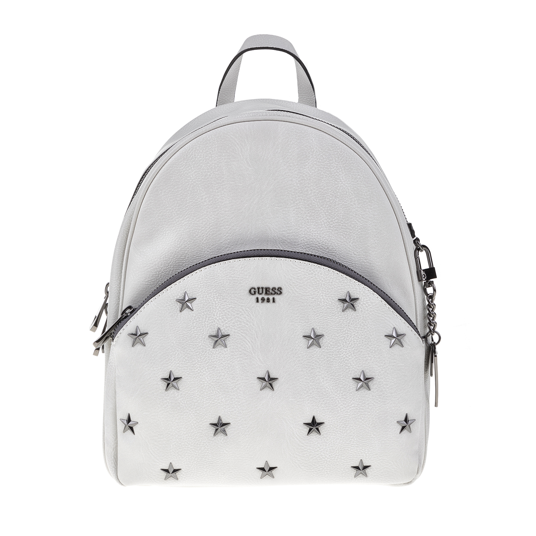 GUESS – Γυναικεία τσάντα πλάτης BRADYN GUESS λευκή
