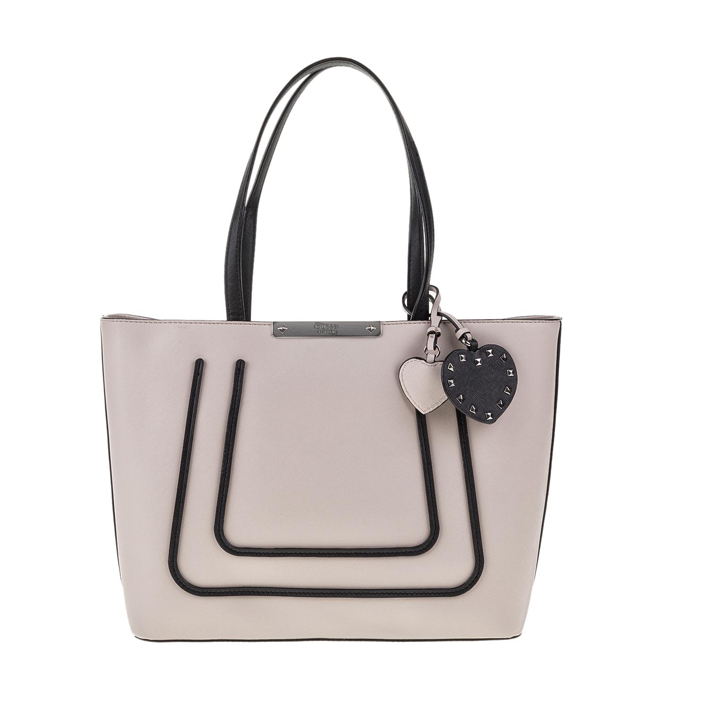 GUESS – Γυναικεία τσάντα BRITTA GUESS γκρι 1571469.0-0086