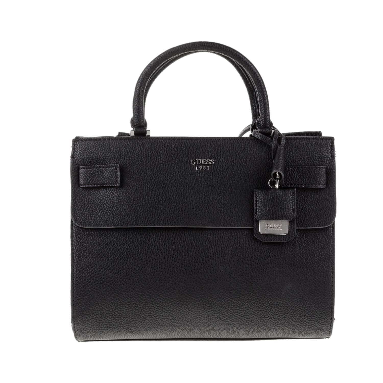 GUESS – Γυναικεία τσάντα χειρός CATE GUESS μαύρη 1571473.0-0071