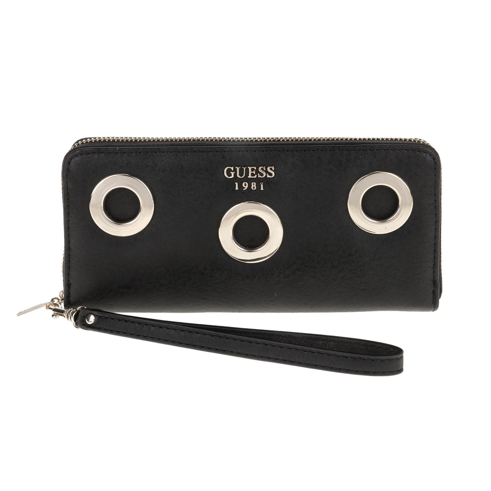 GUESS – Γυναικείο πορτοφόλι GUESS μαύρο