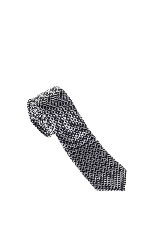 SSEINSE - Αντρική γραβάτα CRAVATTA SSEINSE μαύρη-γκρι ανδρικά αξεσουάρ γραβάτες
