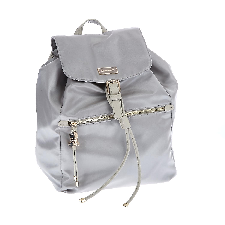 SAMSONITE - Τσάντα πλάτης Samsonite μπεζ γυναικεία αξεσουάρ τσάντες σακίδια πλάτης