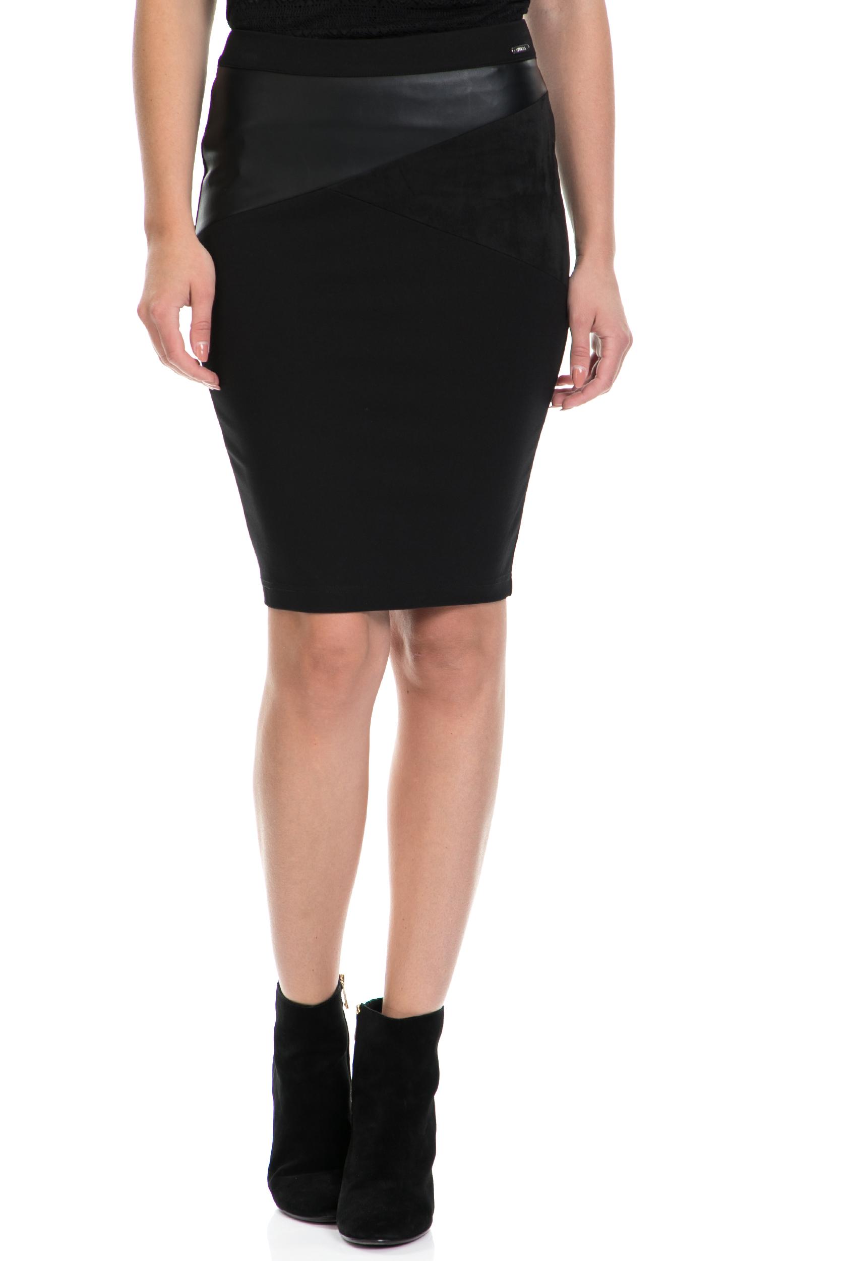GUESS – Γυναικεία φούστα AMBRA GUESS μαύρη
