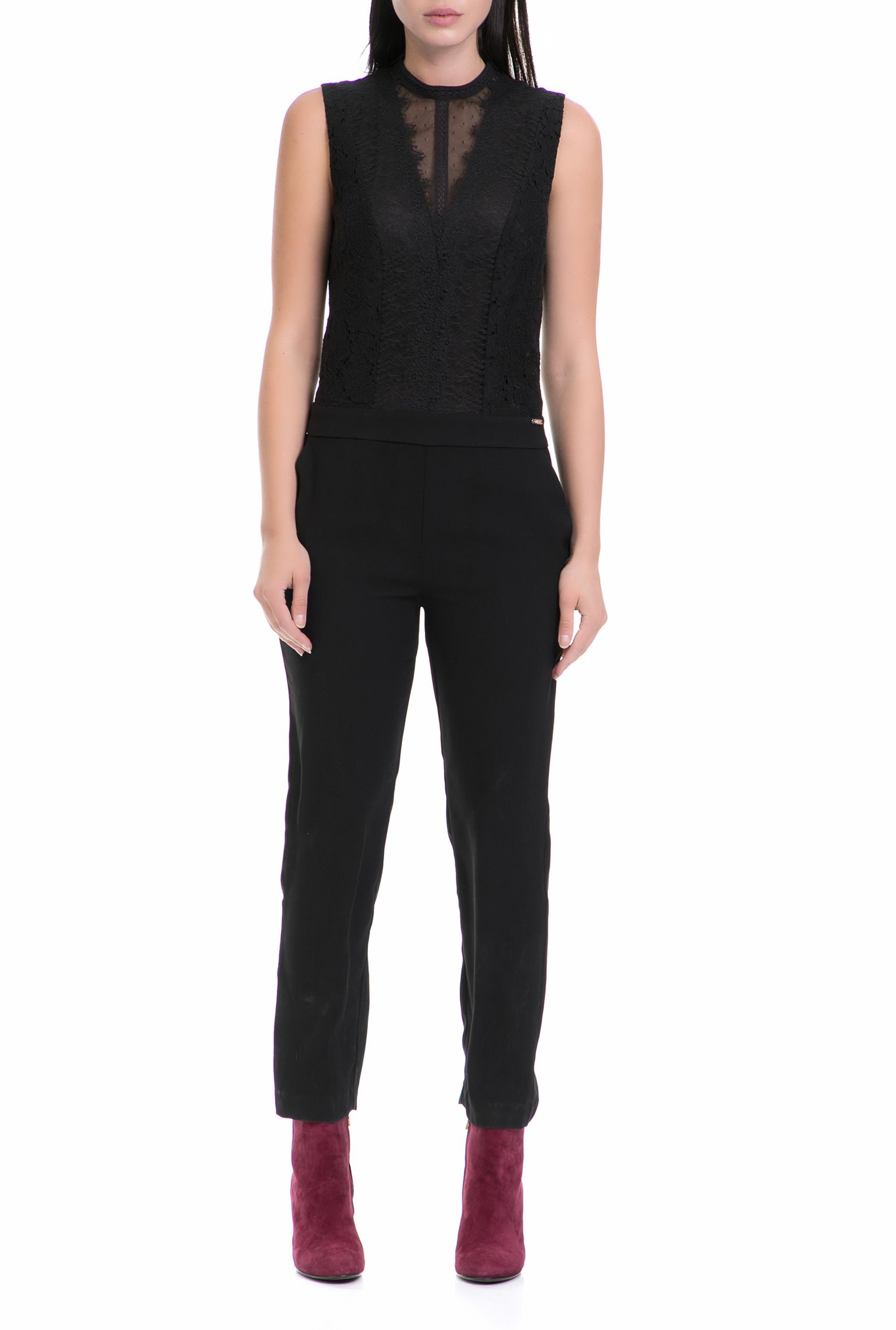 GUESS – Γυναικεία ολόσωμη φόρμα ELDA GUESS μαύρη 66f1b606d5b