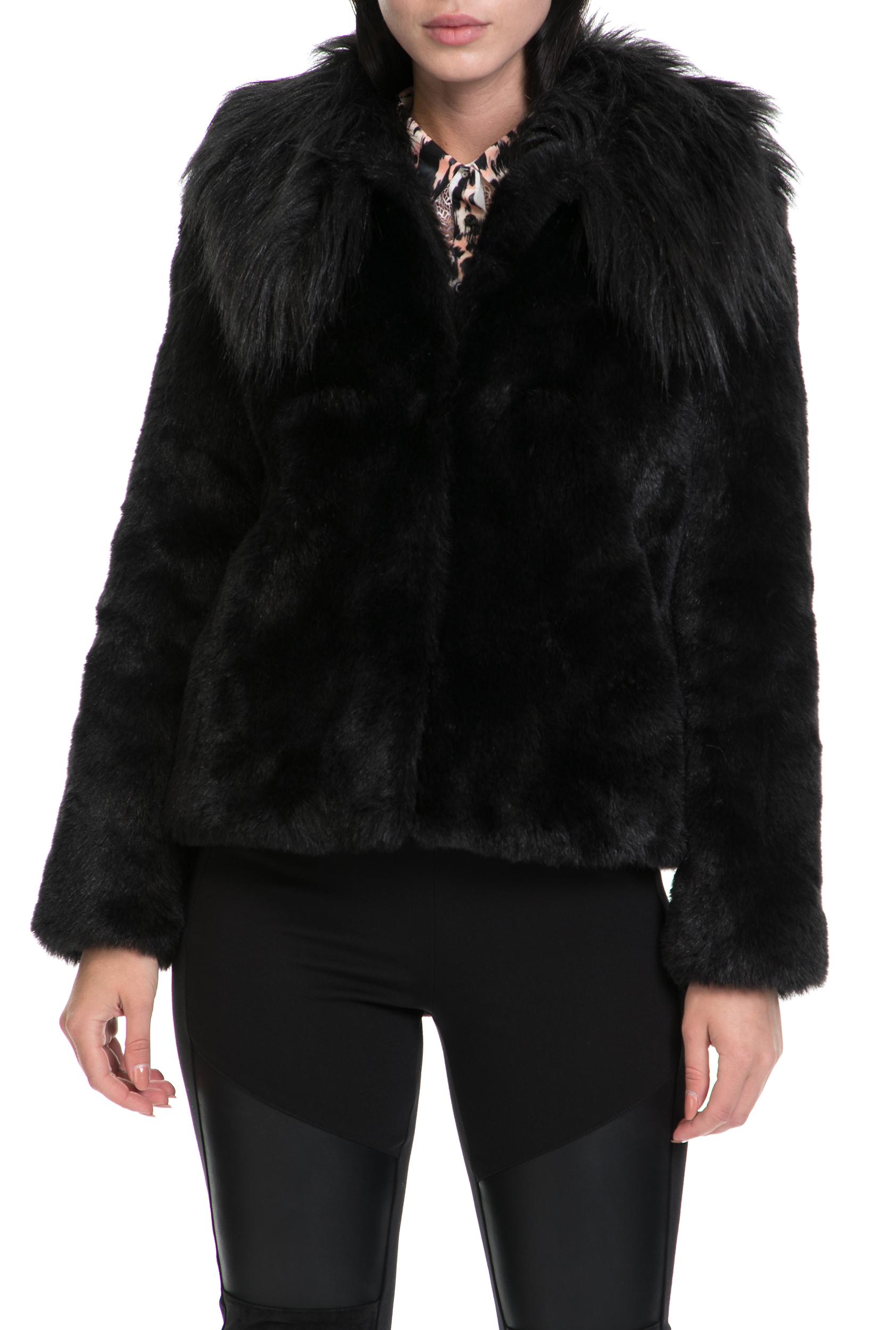 GUESS – Γυναικείο παλτό AGATA GUESS μαύρο