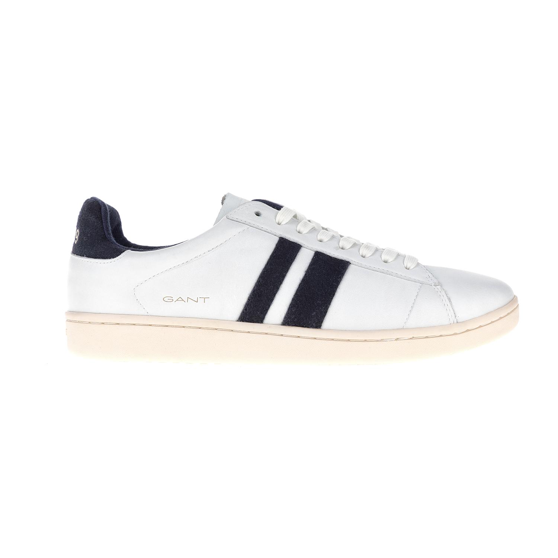 GANT – Ανδρικά sneakers Ace GANT λευκά-μπλε