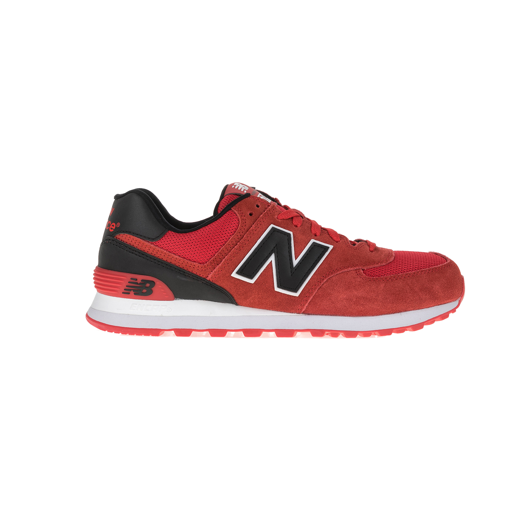 NEW BALANCE – Ανδρικά sneakers NEW BALANCE κόκκινα