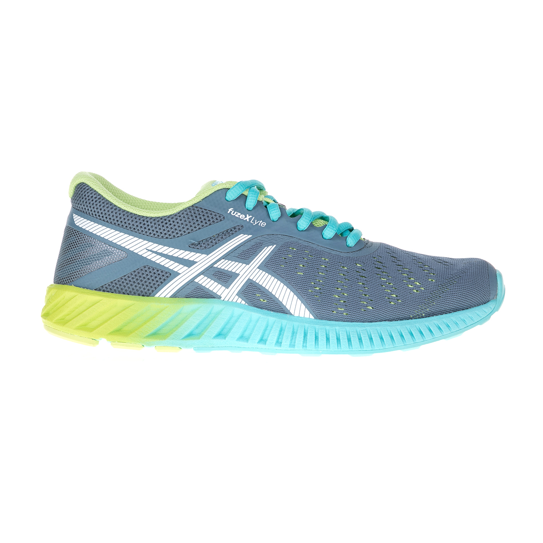 ASICS (FO) - Γυναικεία αθλητικά παπούτσια ASICS fuzeX Lyte γκρι-μπλε γυναικεία παπούτσια αθλητικά running