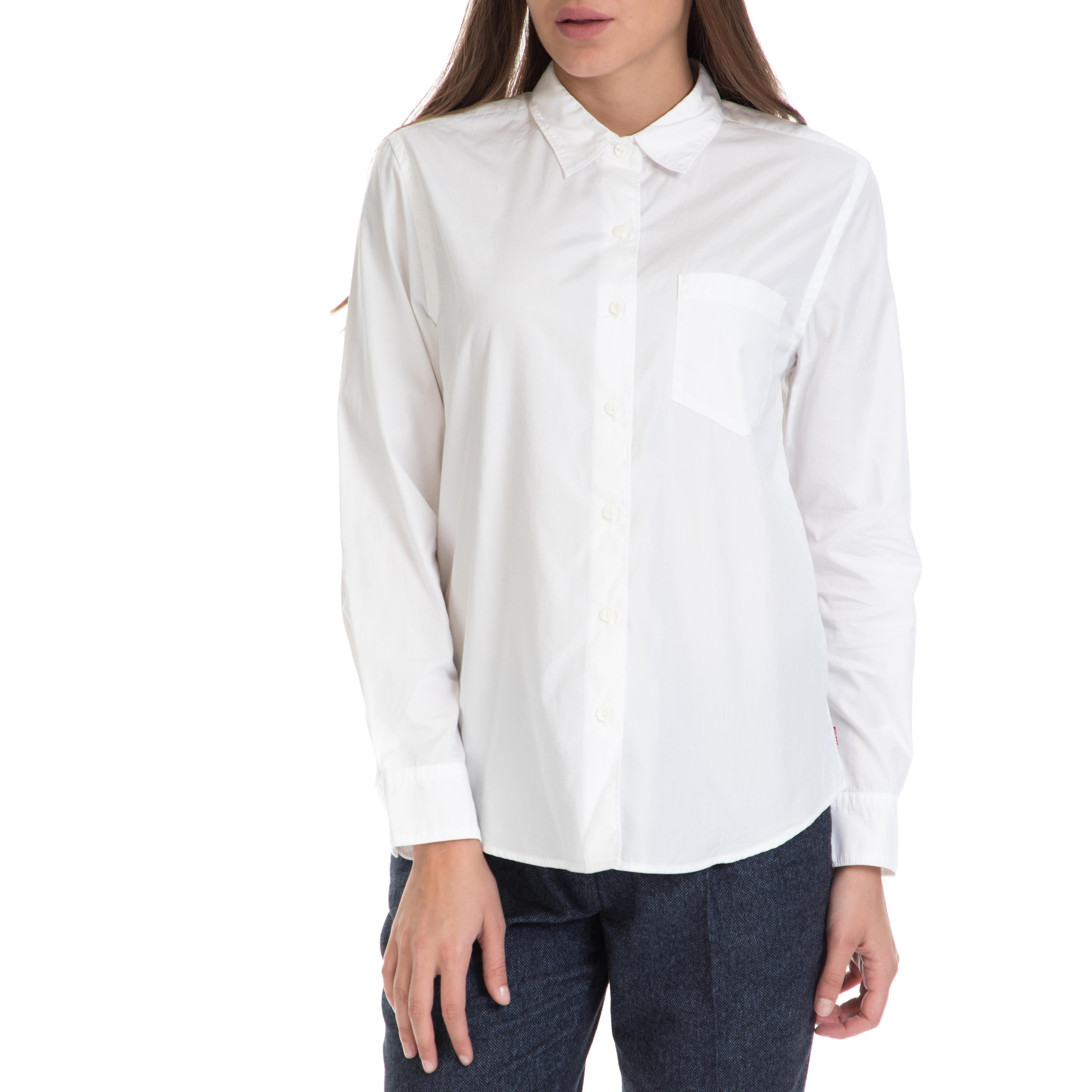 LEVIS – Γυναικείο πουκάμισο Sid 1 Pocket BF LEVI'S λευκό