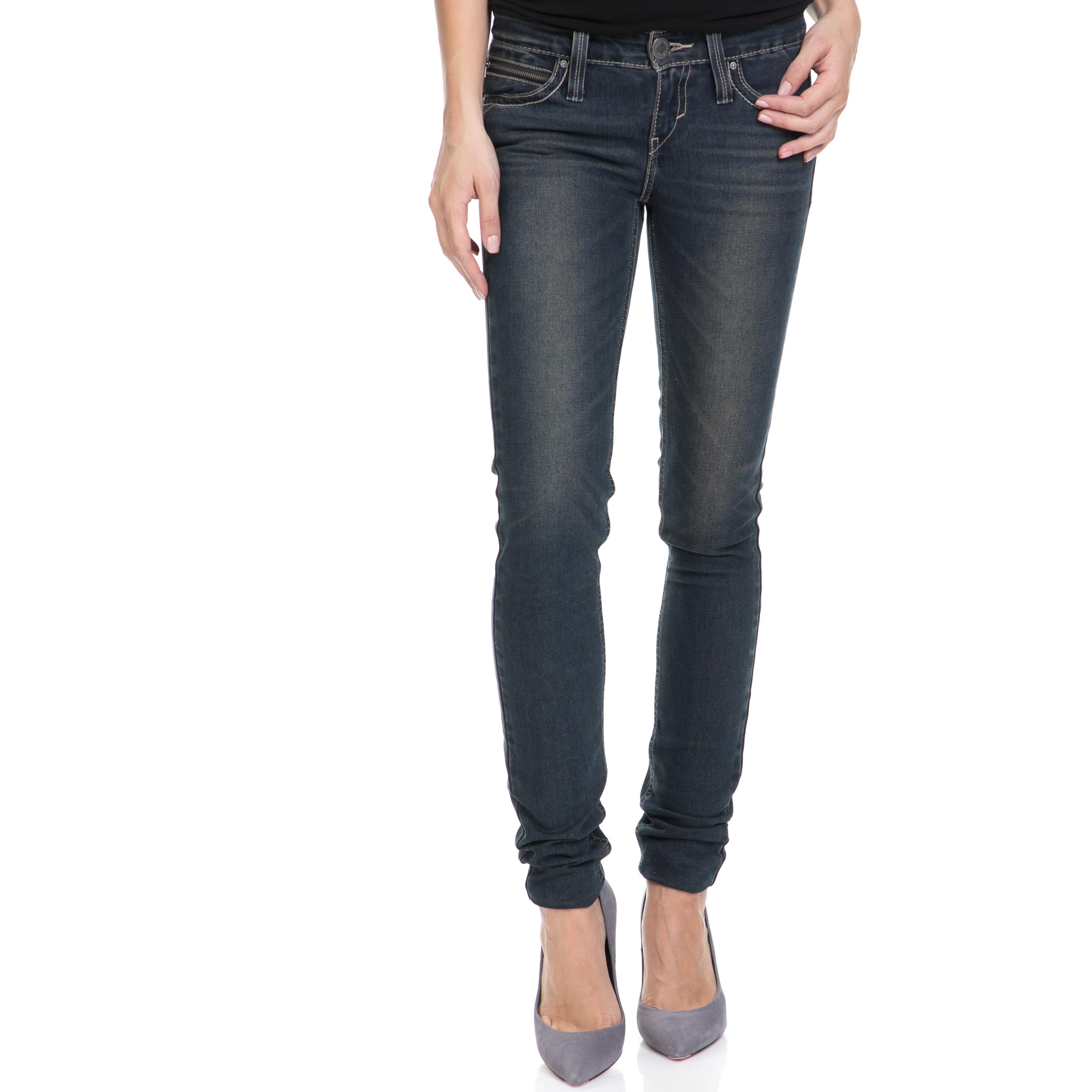 LEVI'S – Γυναικείο τζιν παντελόνι REVEL LOW DC SKINNY LEVI'S μπλε