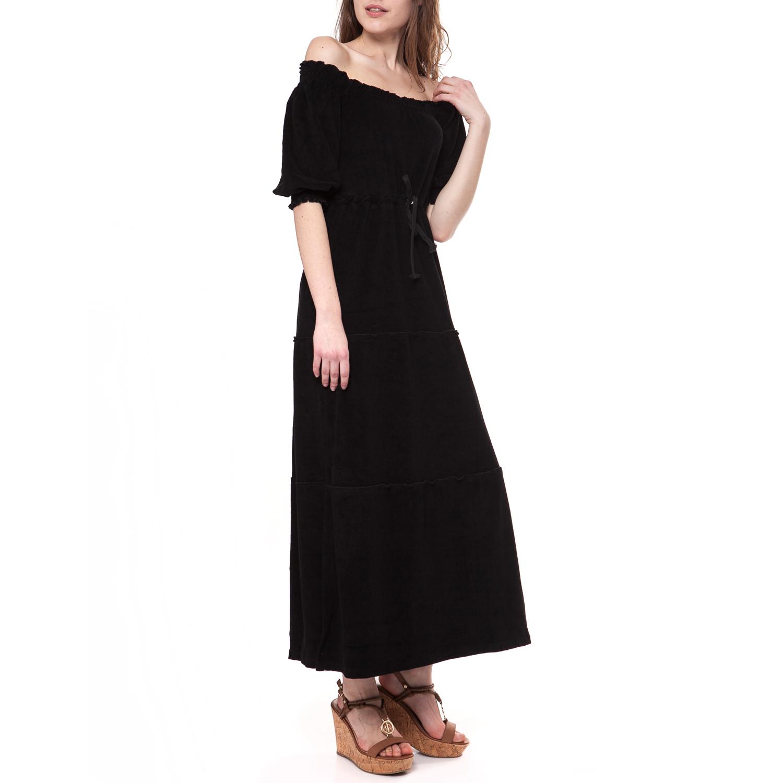 MYMOO - Γυναικείο φόρεμα MYMOO μαύρο γυναικεία ρούχα φορέματα μάξι