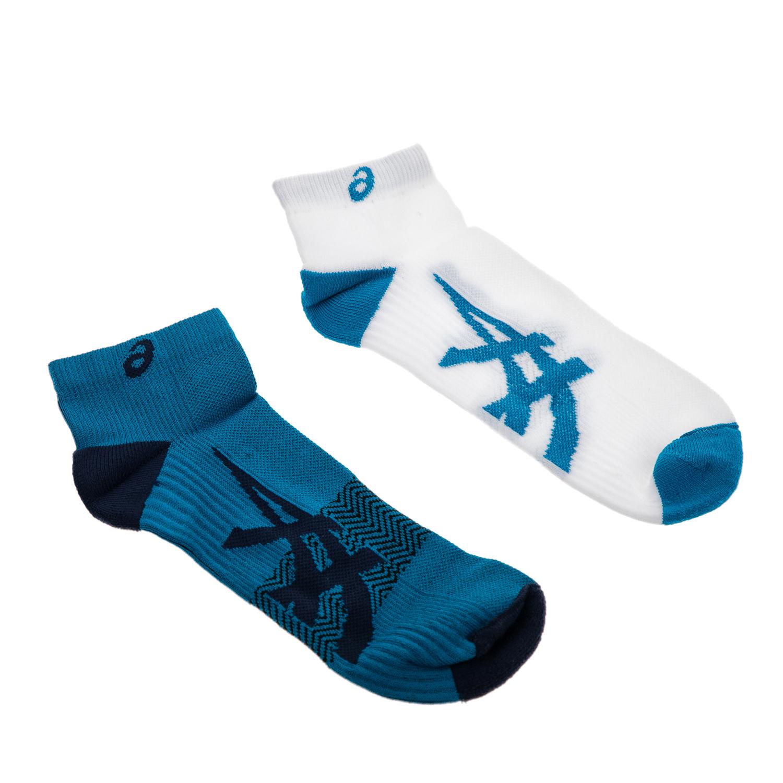 ASICS - Σετ κάλτσες 2 τμχ ASICS λευκές-μπλε γυναικεία αξεσουάρ κάλτσες
