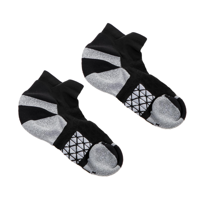 ASICS - Κάλτσες ASICS MARATHON RACER μαύρες-γκρι γυναικεία αξεσουάρ κάλτσες