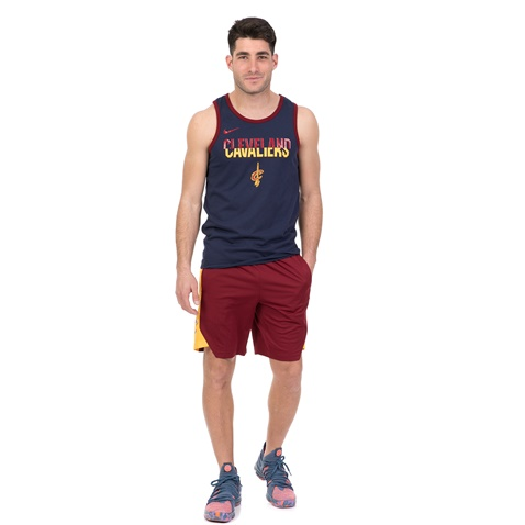 NIKE-Aνδρική φανέλα μπάσκετ NIKE Dry Cleveland Cavaliers μπλε