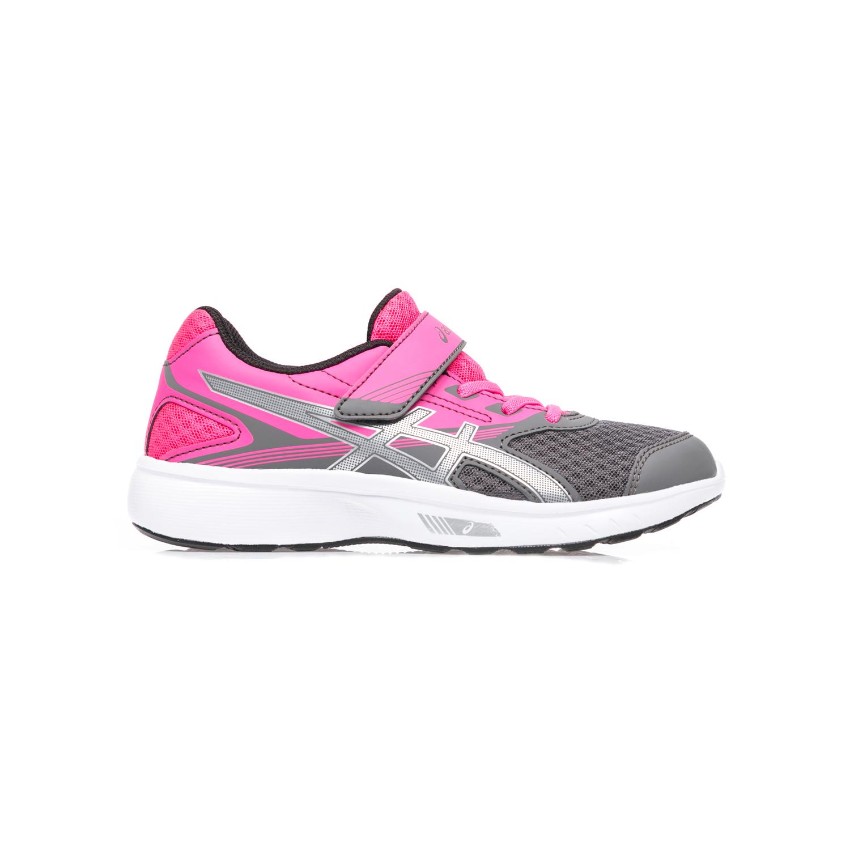 ASICS – Παιδικά αθλητικά παπούτσια ASICS STORMER PS γκρι-ροζ