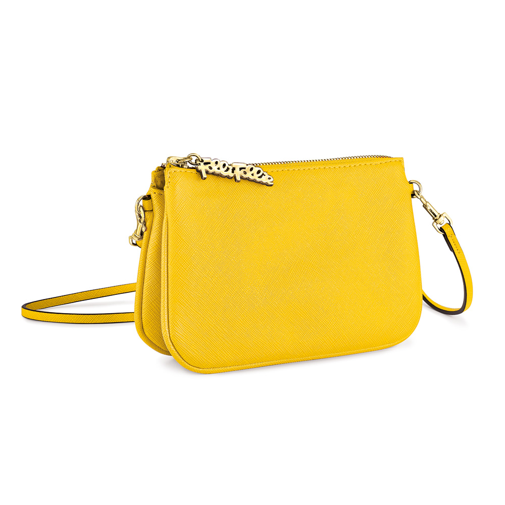 FOLLI FOLLIE – Γυναικεία τσάντα FOLLI FOLLIE κίτρινη