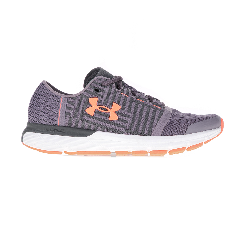 UNDER ARMOUR – Γυναικεία αθλητικά παπούτσια UNDER ARMOUR SPEEDFORM GEMINI 3 γκρι-μοβ