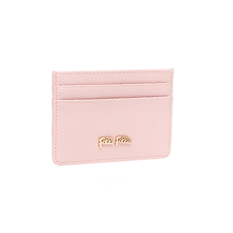 FOLLI FOLLIE - Θήκη για κάρτες Folli Follie ροζ γυναικεία αξεσουάρ θήκες